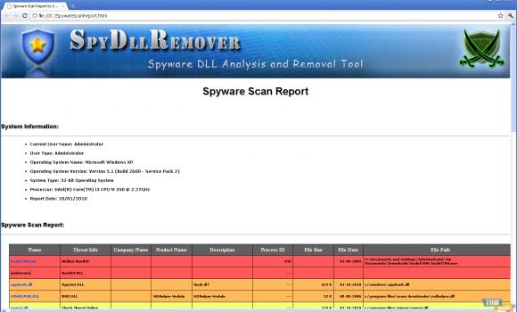 SpyDLLRemover Ekran Görüntüleri - 1