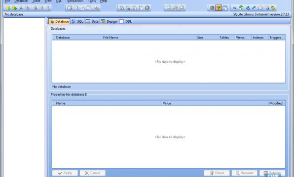 SQLite Expert Personal Ekran Görüntüleri - 2