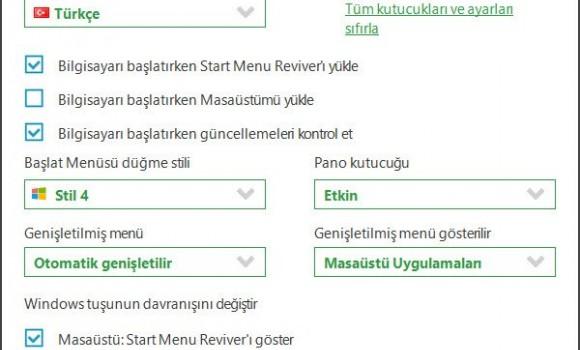 Start Menu Reviver Ekran Görüntüleri - 4