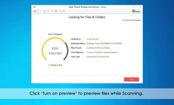 Stellar Phoenix Windows Data Recovery Home Ekran Görüntüleri - 2