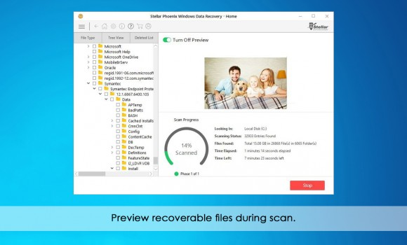 Stellar Phoenix Windows Data Recovery Home Ekran Görüntüleri - 1