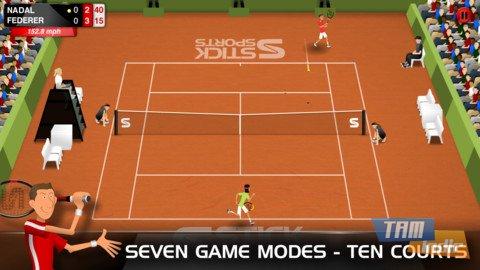 Stick Tennis Ekran Görüntüleri - 4