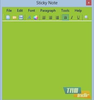 Sticky Note Ekran Görüntüleri - 4