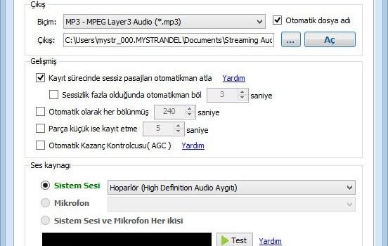 Streaming Audio Recorder Ekran Görüntüleri - 6