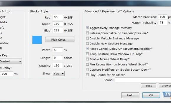 StrokesPlus Ekran Görüntüleri - 1