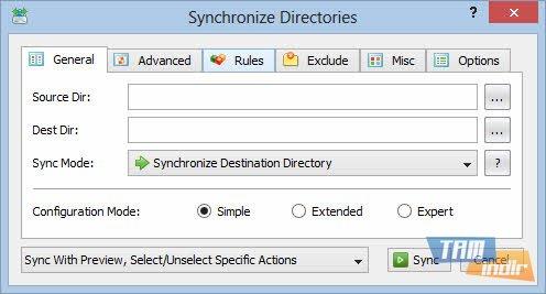 Sync Breeze Ekran Görüntüleri - 1