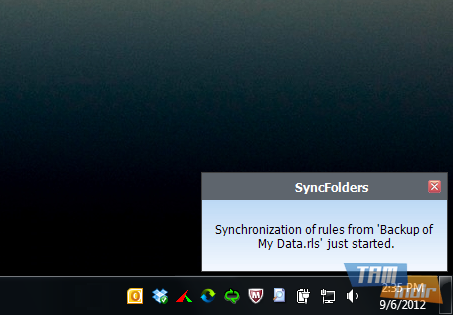 SyncFolders Ekran Görüntüleri - 1