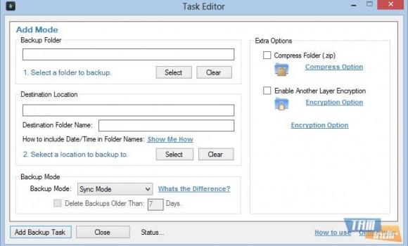 Synei Backup Manager Ekran Görüntüleri - 2