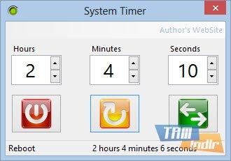 System Timer Ekran Görüntüleri - 1