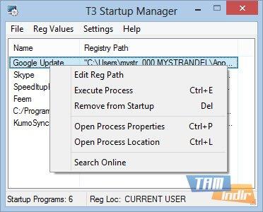 T3 StartUp Manager Ekran Görüntüleri - 1