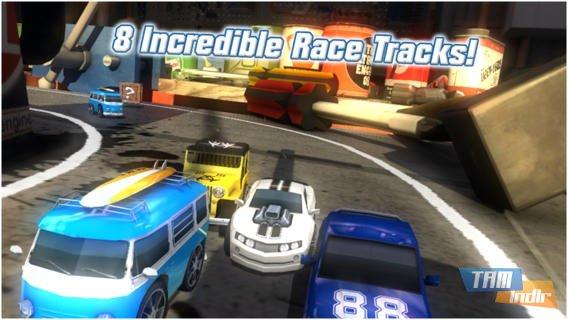 Table Top Racing Ekran Görüntüleri - 4