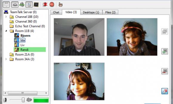 TeamTalk Ekran Görüntüleri - 2