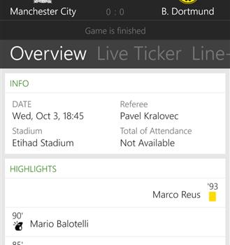 The Football App Ekran Görüntüleri - 6