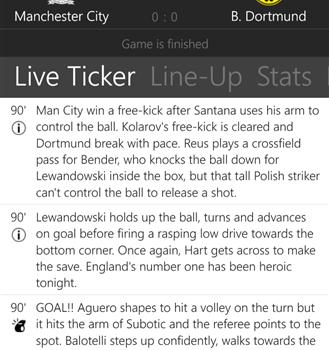 The Football App Ekran Görüntüleri - 5