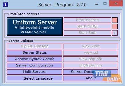 The Uniform Server Ekran Görüntüleri - 3