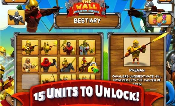 The Wall - Medieval Heroes Ekran Görüntüleri - 4
