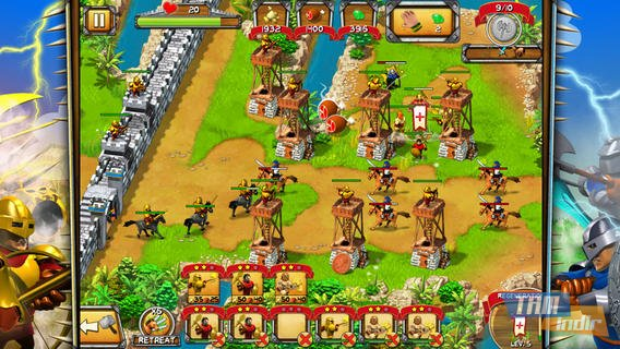 The Wall - Medieval Heroes Ekran Görüntüleri - 1