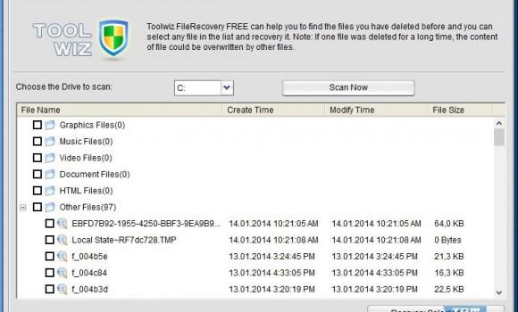 ToolWiz File Recovery Ekran Görüntüleri - 1