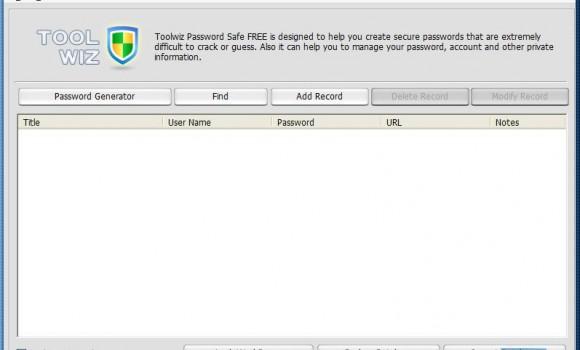 ToolWiz Password Safe Ekran Görüntüleri - 4