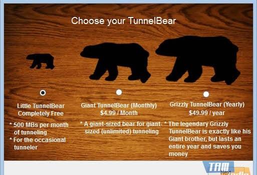 TunnelBear Ekran Görüntüleri - 3