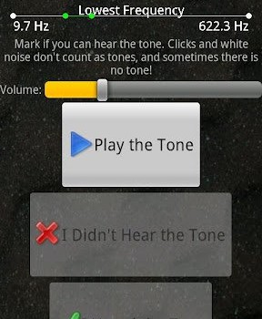 Test Your Hearing Ekran Görüntüleri - 1