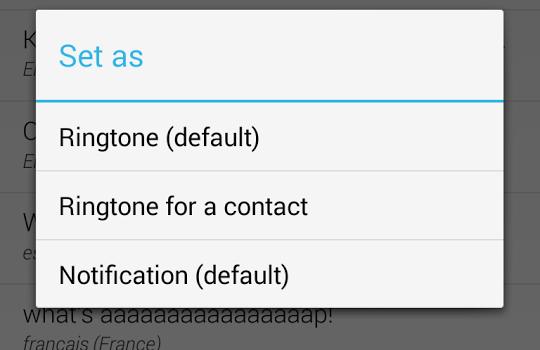Type Your Ringtone Lite Ekran Görüntüleri - 1