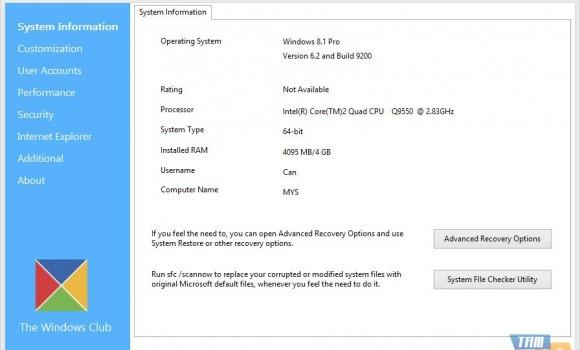 Ultimate Windows Tweaker Ekran Görüntüleri - 7