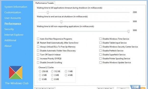 Ultimate Windows Tweaker Ekran Görüntüleri - 4