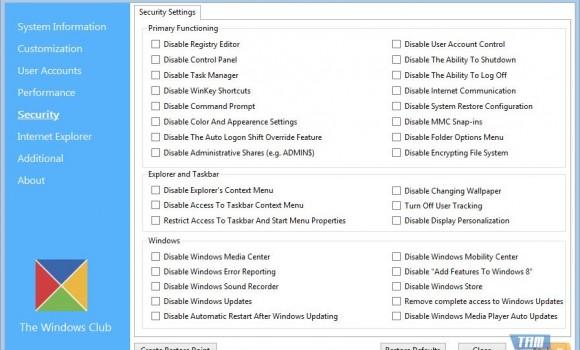 Ultimate Windows Tweaker Ekran Görüntüleri - 3