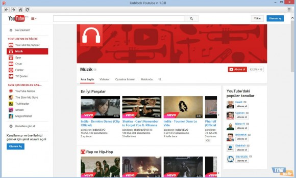 Unblock Youtube Ekran Görüntüleri - 1