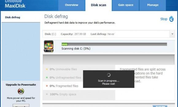 Uniblue MaxiDisk Ekran Görüntüleri - 4