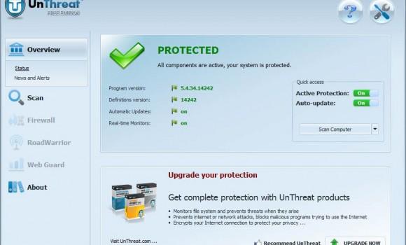UnThreat Free Antivirus Ekran Görüntüleri - 3