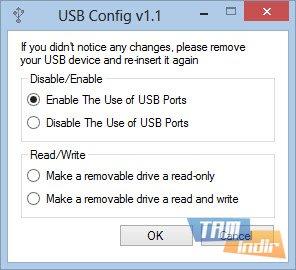 USB Config Ekran Görüntüleri - 1
