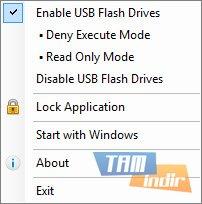 USB Flash Drives Control Ekran Görüntüleri - 1