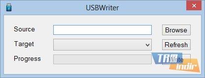 USBWriter Ekran Görüntüleri - 1