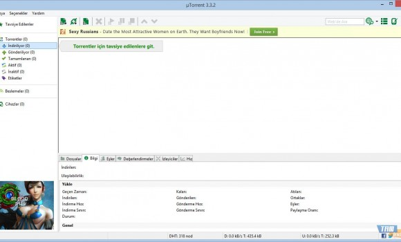 uTorrent Ekran Görüntüleri - 7