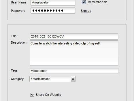 Video Booth Ekran Görüntüleri - 1
