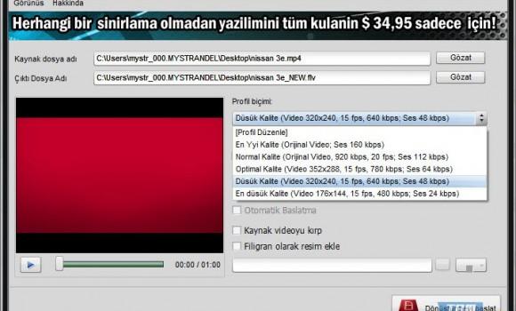 Video to Flash Ekran Görüntüleri - 3
