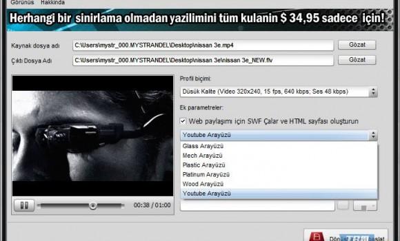 Video to Flash Ekran Görüntüleri - 1