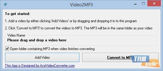 Video2MP3 Ekran Görüntüleri - 1