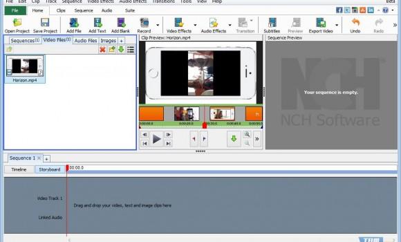 VideoPad Video Editor Ekran Görüntüleri - 5