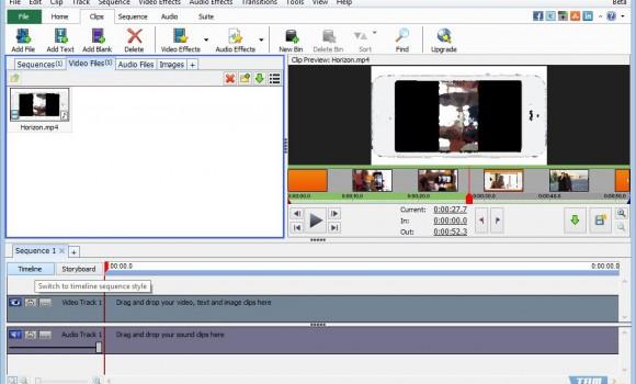 VideoPad Video Editor Ekran Görüntüleri - 2