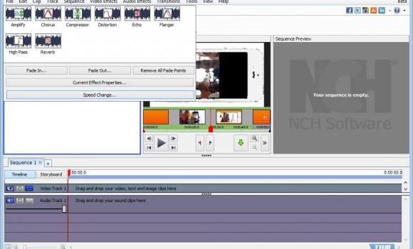 VideoPad Video Editor Ekran Görüntüleri - 1