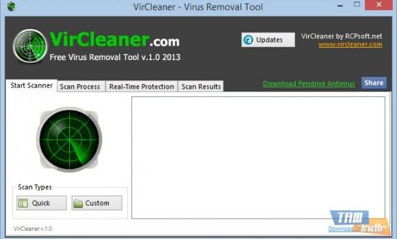 VirCleaner Ekran Görüntüleri - 1