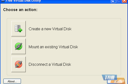 Virtual Disk Utility Ekran Görüntüleri - 1