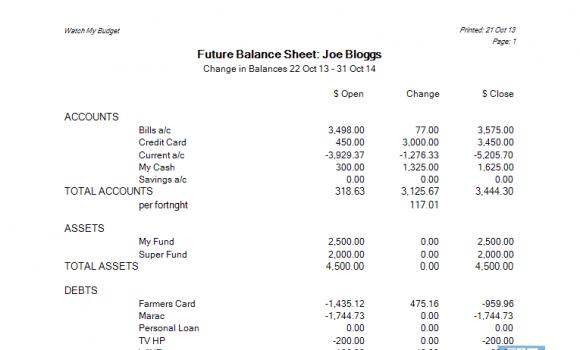 Watch My Budget Ekran Görüntüleri - 1