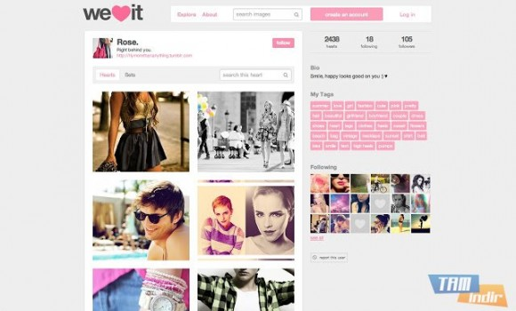 We Heart It Ekran Görüntüleri - 2