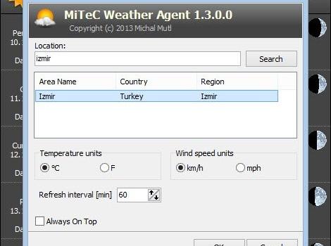 Weather Agent Ekran Görüntüleri - 2