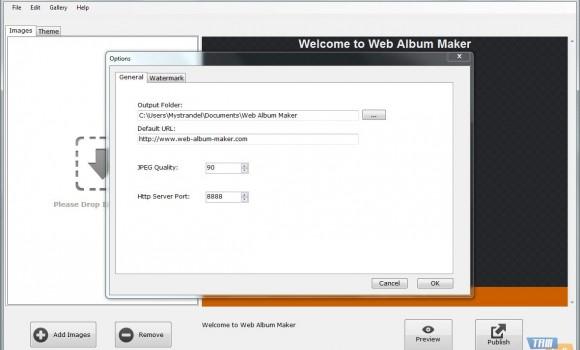 Web Album Maker Ekran Görüntüleri - 2