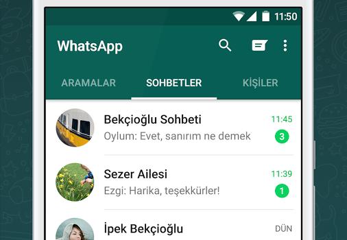 WhatsApp Messenger Ekran Görüntüleri - 5